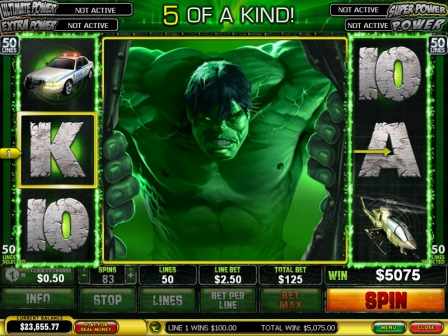 Incredible Hulk 50 Lines