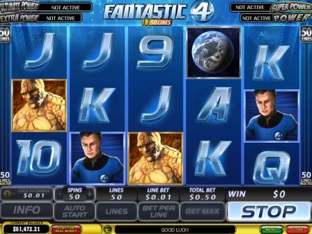 Fantastic Four 50 Lines