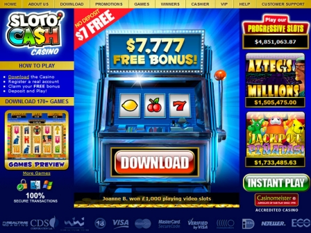 sloto cash online casino review