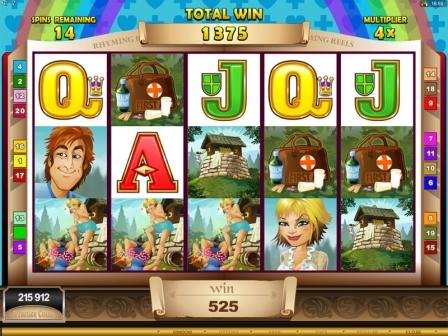 rhyming reels- jack and jill casino