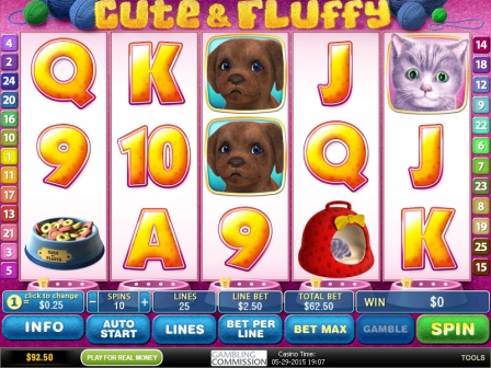 Cute and Fluffy™ Slot Machine Game to Play Free in Playtechs Online Casinos