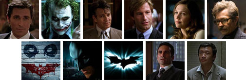 The Dark Knight symbols